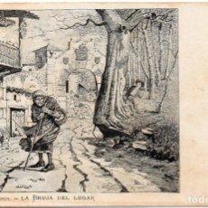 Postales: PS7533 COLECCIÓN POLANCO 'LA BRUJA DEL LUGAR'. SIN CIRCULAR. PRINC. S. XX. Lote 82302092