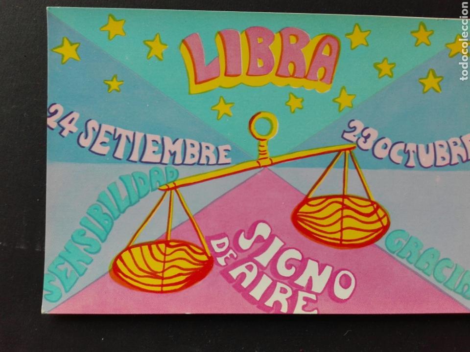 HORÓSCOPO LIBRA (Postales - Dibujos y Caricaturas)