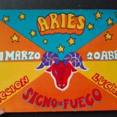Postales: HORÓSCOPO ARIES. Lote 82478639