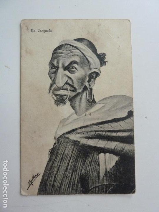 UN JARQUEÑO. EDICIÓN BOIX HERMANOS. MELILLA (Postales - Dibujos y Caricaturas)