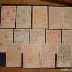 Postales: COLECCION COMPLETA DE 14 POSTALES LA OREJA ENSANGRENTADA .TABOADA-KARIKATO.EDITADAS EN VIGO.. Lote 84228200