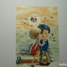Postales: POSTAL JOVENES ENAMORADOS.- COLEC. C Y Z -ESCRITA. Lote 84860996