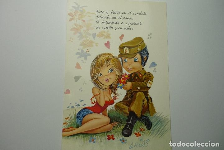 Ostal Pareja Militar Escrita C Y Z Dibujo Ari Kaufen Alte