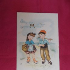Postales: BONITA POSTAL DE DIBUJOS Y CARICATURAS. NIÑOS CAMPESINOS . C M B. SERIE Nº 86. Lote 84881436