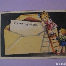 Postales: POSTAL ED. ARFO. SERIE A. ESCRITA. 1945.. Lote 85919556