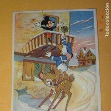 Postales: ANTIGUA TARJETA POSTAL PERSONAJE WALT DISNEY COPYRIGH DISNEY 1956 IMPRESA EN ESPAÑA. Lote 86879864