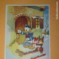 Postales: ANTIGUA TARJETA POSTAL PERSONAJE WALT DISNEY COPYRIGH DISNEY 1956 IMPRESA EN ESPAÑA. Lote 86880036