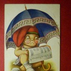Postales: POSTAL - DIBUJOS Y CARICATURAS - J. IBAÑEZ - Nº 710 - EDICIONES VICTORIA - ESCRITA EN 1923 -. Lote 87192844