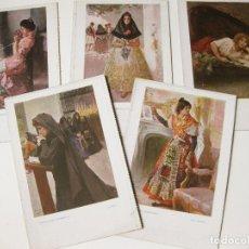 Postales: LOTE DE POSTALES DE CREACIONES FEMENINAS EDITADAS POR BLANCO Y NEGRO. CECILIO PLA.. Lote 87889880