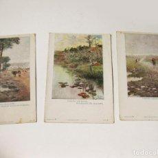 Postales: 3 POSTALES DE PAISAJES ANDALUCES. Nº 2, 5 Y 8 DE LA COLECCION A. Lote 87905868