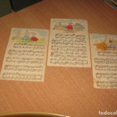 Postales: 3 POSTALES DE BOLERO. Lote 88884200