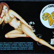 Postales: HORÓSCOPO ARIES. Lote 89091238