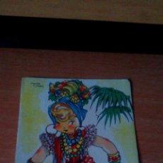 Postales: POSTAL MARI PEPA EN CUBA, RUMBISTA Y EQUILIBRISTA - POR MARIA CLARET , NO ESCRITA NI CIRCULADA. Lote 89116568
