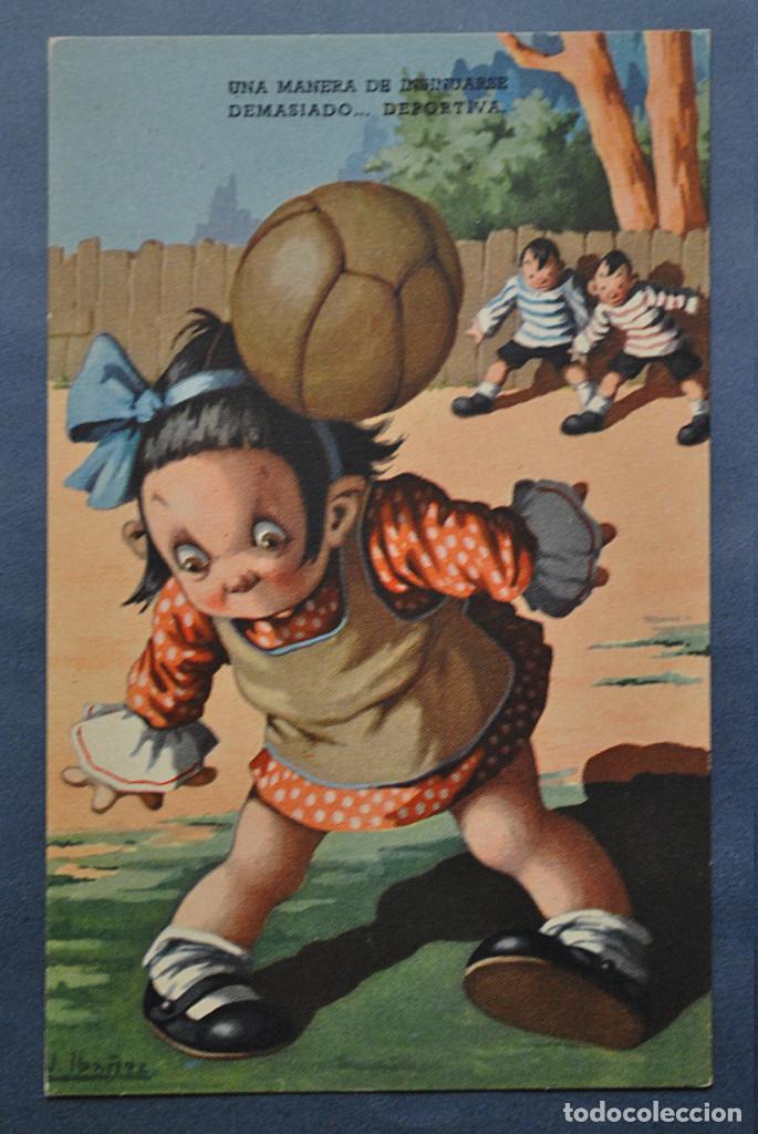 POSTAL IBÁÑEZ Nº 6 - ED BARSAL 1940 (Postales - Dibujos y Caricaturas)