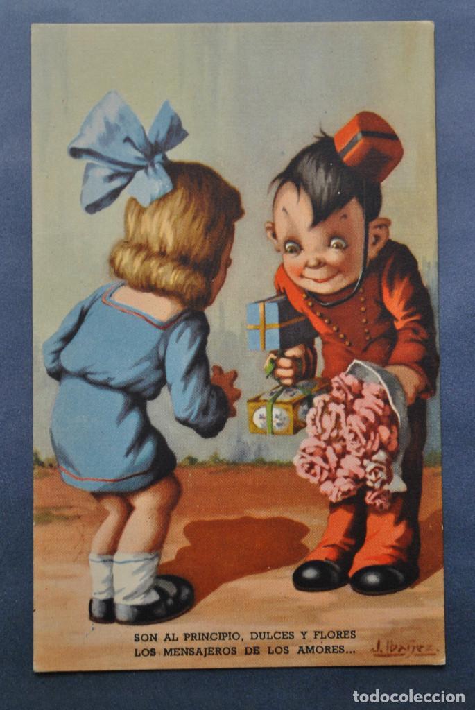 POSTAL IBÁÑEZ Nº 8 - ED BARSAL 1940 (Postales - Dibujos y Caricaturas)