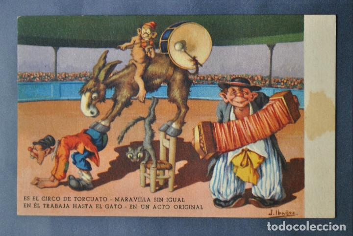 POSTAL IBÁÑEZ Nº 14 - ED BARSAL 1940 (Postales - Dibujos y Caricaturas)