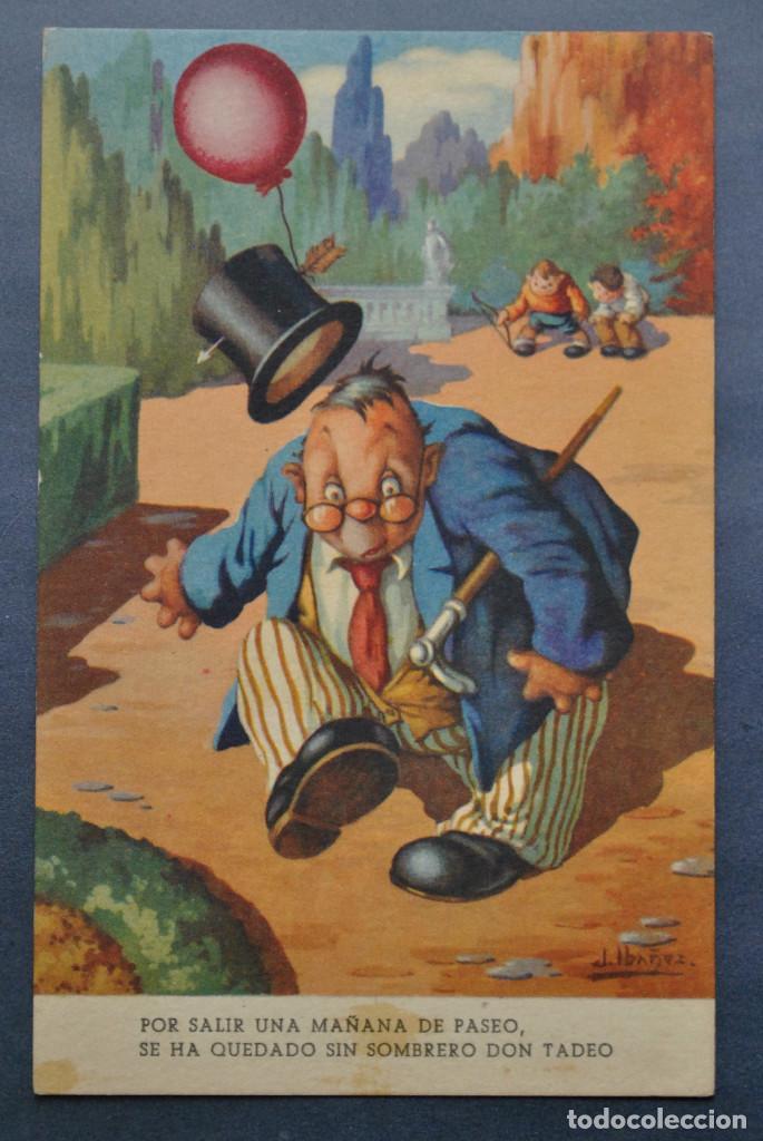 POSTAL IBÁÑEZ Nº 17 - ED BARSAL 1940 (Postales - Dibujos y Caricaturas)