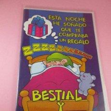 Postales: POSTAL-DOBLE HOJA+SOBRE-BESTIAL Y CARÍSIMO....-NOS-PRECINTADO-VER FOTOS. Lote 89682060