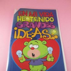 Postales: POSTAL-DOBLE HOJA+SOBRE-GRANDES IDEAS.FELICIDADES-NOS-PRECINTADO-VER FOTOS. Lote 89804772