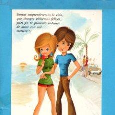 Postales: POSTAL DE DIBUJO STON EDITOR CYZ PAREJA ENAMORADOS SIN CIRCULAR . Lote 90041132