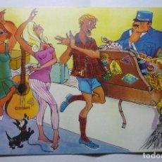 Postales: POSTAL HUMOR TURISTAS - DIBUJO GRAÑENA. Lote 90056184