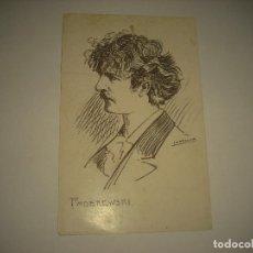 Postales: PADEREWSKI . ILUSTRA F. DE LARROCHA . MUSICOS. Lote 91310435