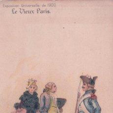 Postales: POSTAL CARICATURA EXPOSICION UNIVERSAL 1900 - A LA FOIRE ST LAURENT. Lote 91565250