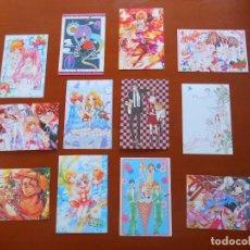 Postales: L-342 LOTE 12 POSTALES JAPONESAS TEMA MANGA ANIME, JAPÓN.. Lote 91574135