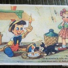 Postales: ANTIGUA POSTAL INFANTIL. EDICIONES COLON. WALT-DISNEY. SERIE 107/2.. Lote 93352490