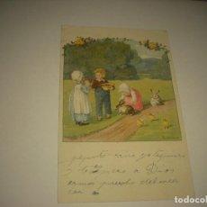 Postales: PRECIOSA POSTAL PAULI EBNER . ESCRITA 1923. Lote 93419835