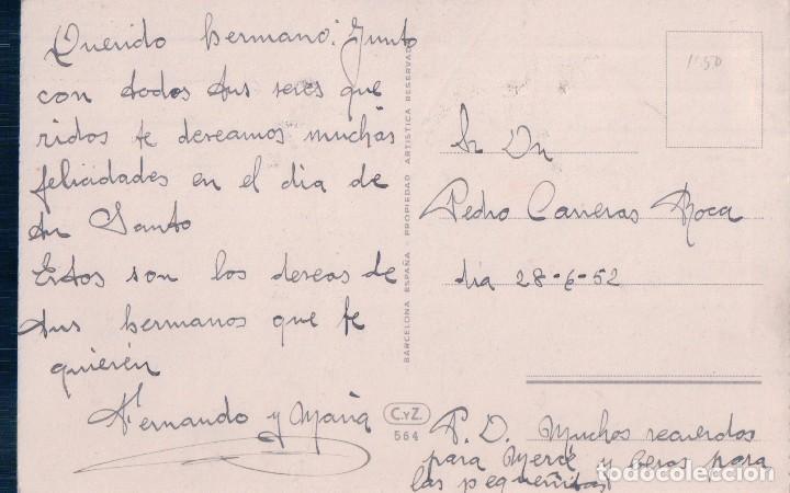 Postales: POSTAL DIBUJO PAISAJE - CAMPO - ARBOLES - RIO -MONTAÑA - CASTILLO - PUENTE - C Y Z 564 - Foto 2 - 93841050
