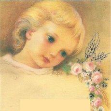 Postales: P053 - MARTA RIBAS - PRECIOSO RECORDATORIO PAPEL VEGETAL- 01.02.155.1 - 1985. Lote 124716544