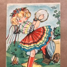 Postales: PRECIOSA POSTAL MARI PEPA - MARIA CLARET, SERIE A, Nº 10, I.G. VALVERDE - SAN SEBASTIAN. Lote 94371294