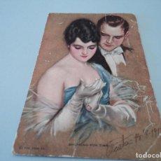 Postales: ANTIGUA POSTAL CIRCULADA EN 1914 CON SELLO DE ALFONSO XIII. Lote 94392226