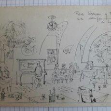 Postales: POSTAL CIRCULADA CUEVAS DE SÉSAMO. MADRID 1964. Lote 94380206