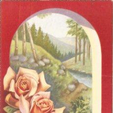 Postales: ILUSTRADOR: C.VIVES - FLORES, PAISAJE - EDITA CYZ 529/B - ESCRITA. Lote 95148335