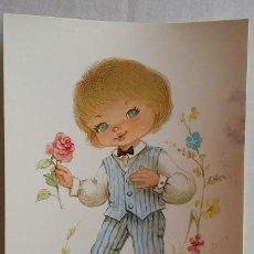 Postales: ILUSTRADOR NUCO. POSTAL INFANTIL AÑOS 80. Lote 87611160