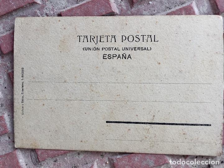 Postales: Postal 1900 a tinta caballero firmada por muecas sin dividir ni circular 14x9 cm - Foto 4 - 97316187