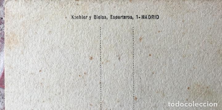 Postales: Postal 1900 a tinta caballero firmada por muecas sin dividir ni circular 14x9 cm - Foto 5 - 97316187