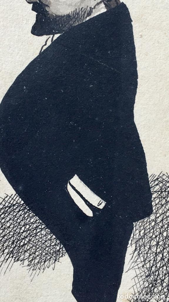 Postales: Postal 1900 a tinta caballero firmada por muecas sin dividir ni circular 14x9 cm - Foto 6 - 97316187