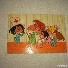 Postales: LA FAMILIA TELERÍN . TARJE FHER 1965. Lote 97381867
