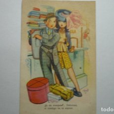 Postales: POSTAL EDICIONES LLAMA -DIBUJO RIPOLL --ESCRITA. Lote 97469775