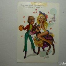 Postales: POSTAL DIBUJOS ARIAS - C Y Z ESCRITA. Lote 97755867