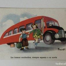 Postales: POSTAL HUMORÍSTICA 1942 SERIE Nº 35 CMB (INFANTIL) . Lote 97809559