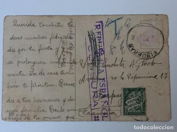 Postales: POSTAL AÑO 1937 INFANTIL CON SELLO CENSURA (REPUBLICA ESPAÑOLA) DIBUJO PAULI EBNER - Foto 3 - 97810699