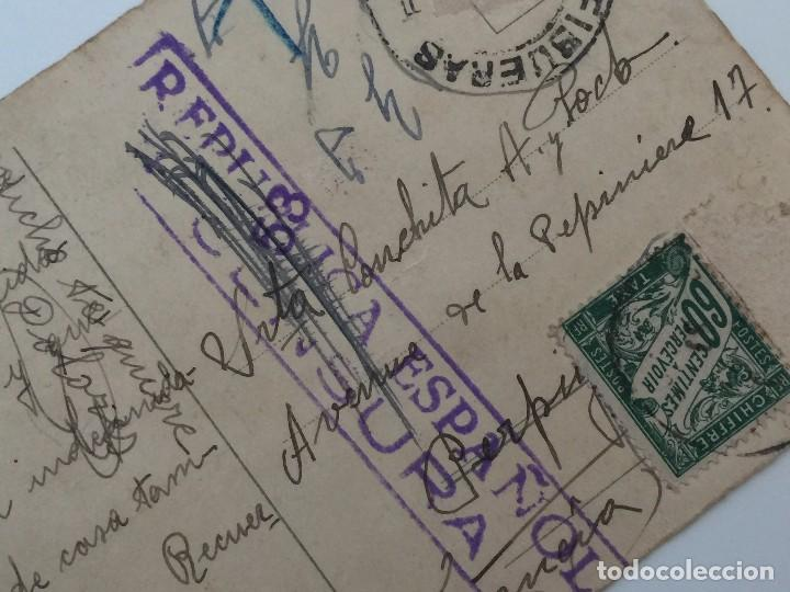 Postales: POSTAL AÑO 1937 INFANTIL CON SELLO CENSURA (REPUBLICA ESPAÑOLA) DIBUJO PAULI EBNER - Foto 4 - 97810699