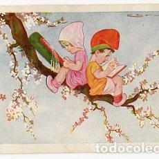Postales: POSTAL ILUSTRADA ( NIÑOS ) CERVELLÓ. EDICIONES VICTORIA , ENTRE AMETLLERS. ESCRITA. Lote 98166583