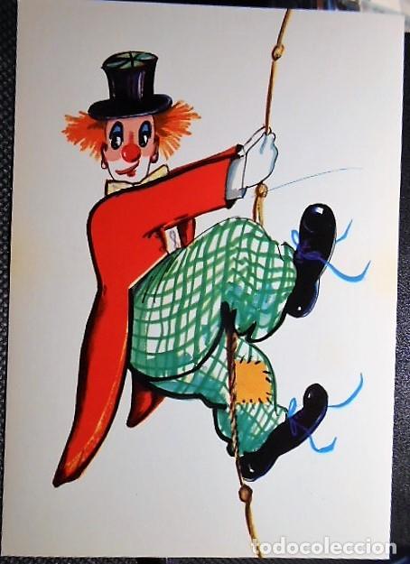 POSTAL ALEMANA PAYASO. SIN CIRCULAR (Postales - Dibujos y Caricaturas)