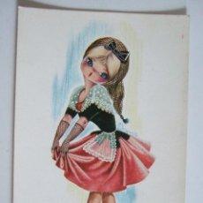 Postales: POSTAL EUROCROMO Nº 1 CATALUÑA - 1962 - ILUSTRADA POR GALLARDA - SIN CIRCULAR. Lote 98501307