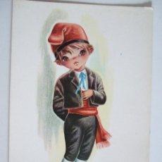 Postales: POSTAL EUROCROMO Nº 2 CATALUÑA - 1962 - ILUSTRADA POR GALLARDA - SIN CIRCULAR. Lote 98501359